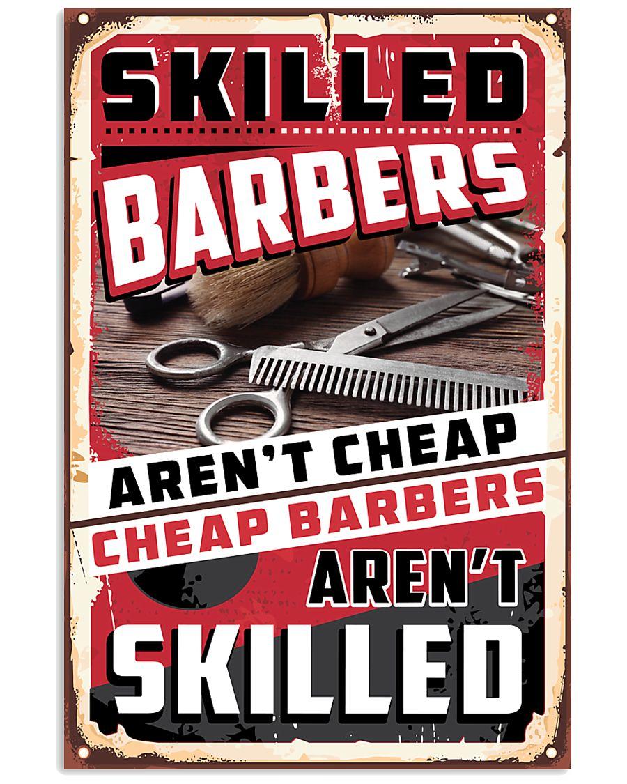 Skilled Barber 11x17 Poster