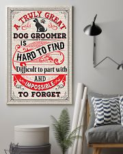 Proud Dog Groomer 11x17 Poster lifestyle-poster-1