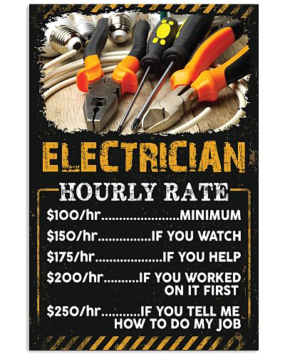 Electrician's Hourly Rate