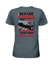 Skilled Ironworkers Aren't Cheap Ladies T-Shirt thumbnail