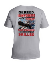 Skilled Ironworkers Aren't Cheap V-Neck T-Shirt thumbnail