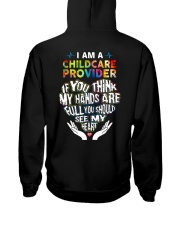 Childcare Provider - You Should See My Heart Hooded Sweatshirt thumbnail