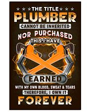 The Title Plumber Own it Forever 11x17 Poster front
