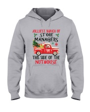 Awesome Store Manager Hooded Sweatshirt front