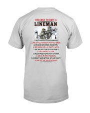 10 Reasons to Date A Lineman Premium Fit Mens Tee thumbnail