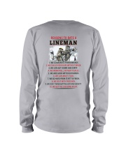 10 Reasons to Date A Lineman Long Sleeve Tee thumbnail
