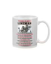 10 Reasons to Date A Lineman Mug thumbnail