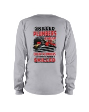 Skilled Plumbers Aren't Cheap Long Sleeve Tee tile