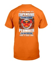 Wait Until You Hire A Bad Plumber- Funny Classic T-Shirt thumbnail