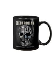 Sarcastic Electrician Shirt Mug thumbnail