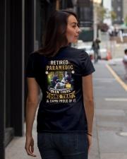 Proud Paramedic Shirt Ladies T-Shirt lifestyle-women-crewneck-back-1