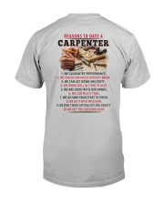10 Reasons to Date A Carpenter  Classic T-Shirt back