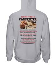 10 Reasons to Date A Carpenter  Hooded Sweatshirt thumbnail