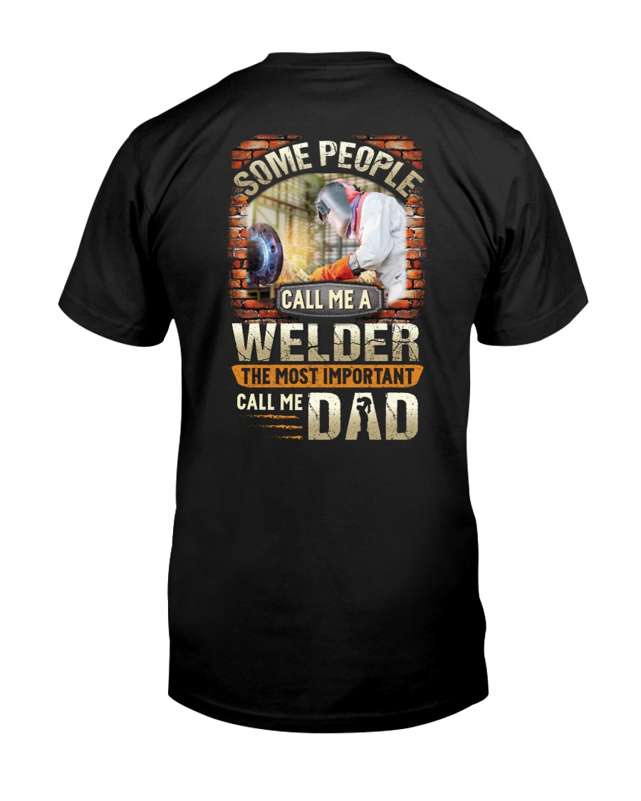 Proud Welder Daddy Classic T-Shirt