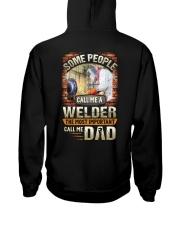 Proud Welder Daddy Hooded Sweatshirt thumbnail