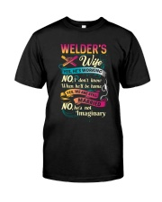 Cute Welder's Lady Shirt Classic T-Shirt thumbnail