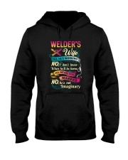 Cute Welder's Lady Shirt Hooded Sweatshirt thumbnail