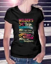 Cute Welder's Lady Shirt Ladies T-Shirt lifestyle-women-crewneck-front-7