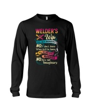 Cute Welder's Lady Shirt Long Sleeve Tee thumbnail