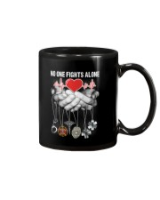 No One Fights Alone- Rad Tech Mug thumbnail
