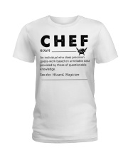 Proud Chef Ladies T-Shirt thumbnail