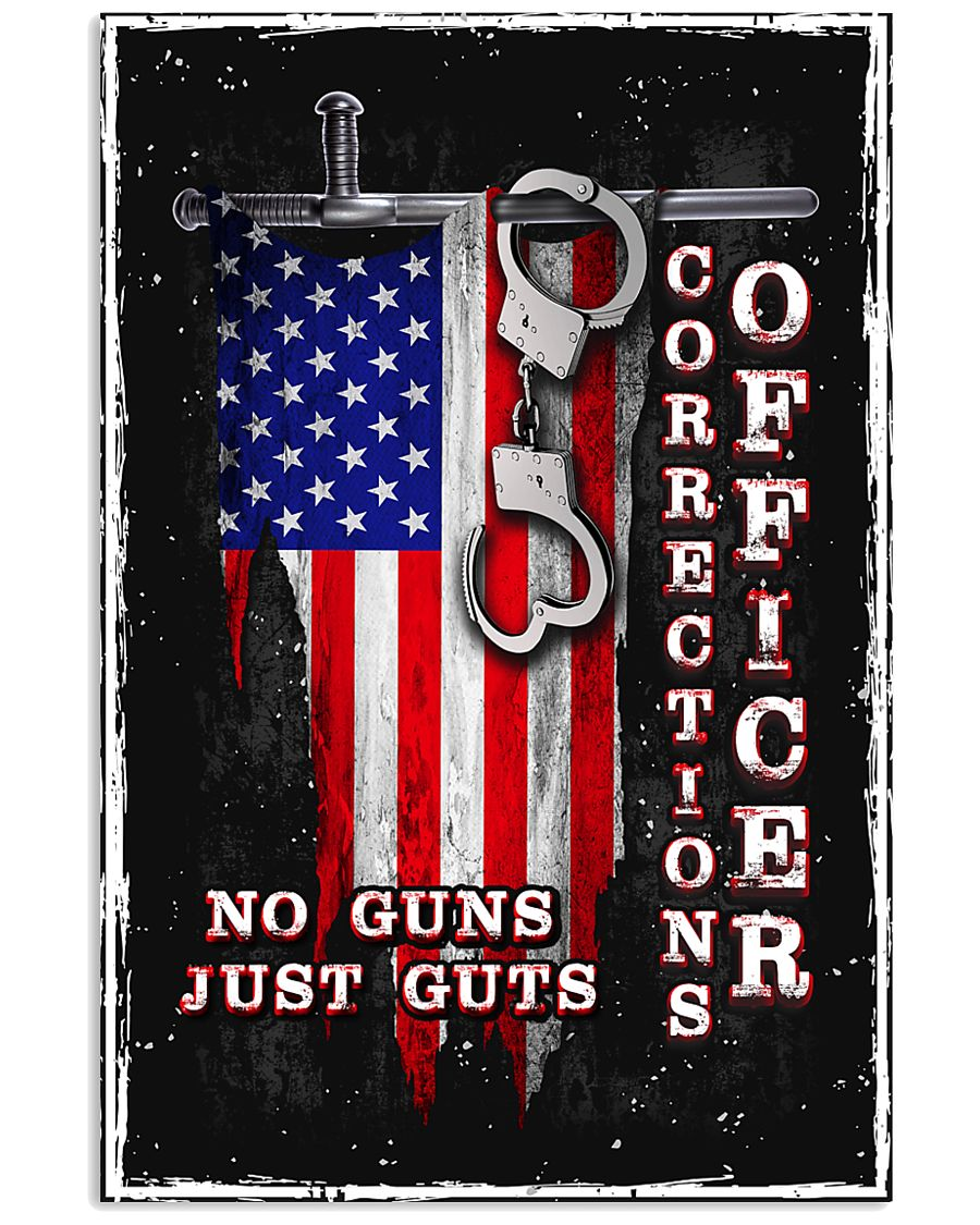 Proud Correctional Officer 11x17 Poster