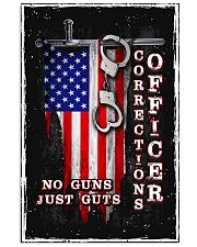 Proud Correctional Officer 11x17 Poster front