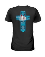 I'M Truly Serving You -Postal Worker Ladies T-Shirt back