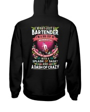Bartender with a splash of sassy Hooded Sweatshirt thumbnail