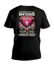 Bartender with a splash of sassy V-Neck T-Shirt thumbnail