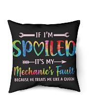 """Mechanic's Fault Indoor Pillow - 16"""" x 16"""" back"""
