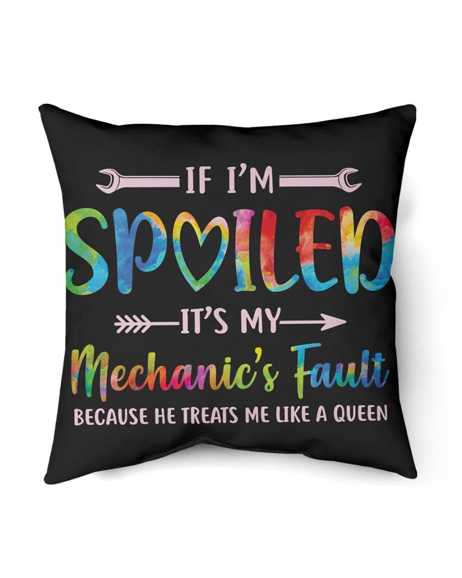 """Mechanic's Fault Indoor Pillow - 16"""" x 16"""""""