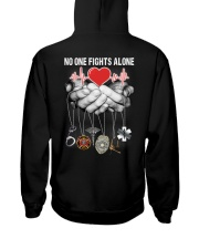 No One Fights Alone Nurse Hooded Sweatshirt thumbnail