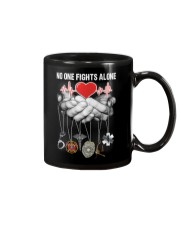 No One Fights Alone Nurse Mug thumbnail