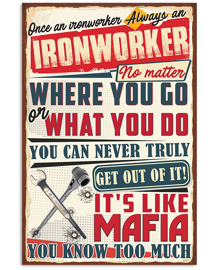 Christmas Special - Ironworker 11x17 Poster