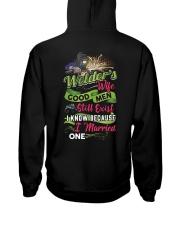 Cute Welder's Lady Hooded Sweatshirt back