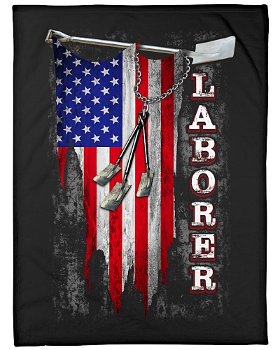 Laborer USA Flag