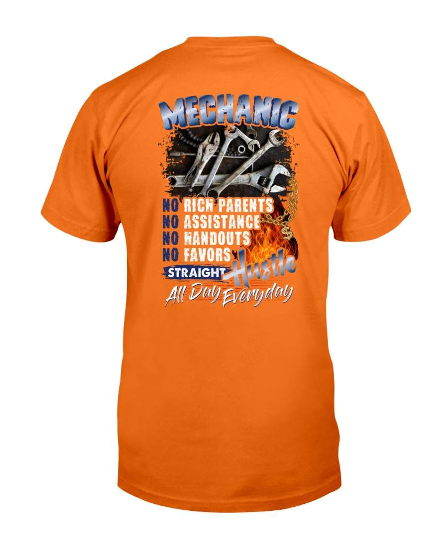 Mechanic - Straight Hustle All Day Everyday Classic T-Shirt