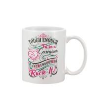 Caregiver - Crazy Enough to Rock It Mug thumbnail