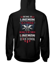 Being A Retried Lineman is Truly An Honor Hooded Sweatshirt thumbnail