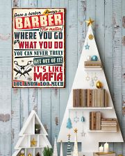 Truly Barber 11x17 Poster lifestyle-holiday-poster-2