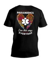 Paramedic Earn Their Wings Everyday  V-Neck T-Shirt thumbnail