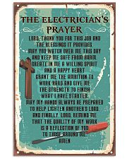 Electrician Prayer 11x17 Poster front