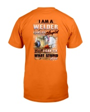 Sarcastic Welder Shirt Classic T-Shirt back