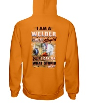 Sarcastic Welder Shirt Hooded Sweatshirt thumbnail