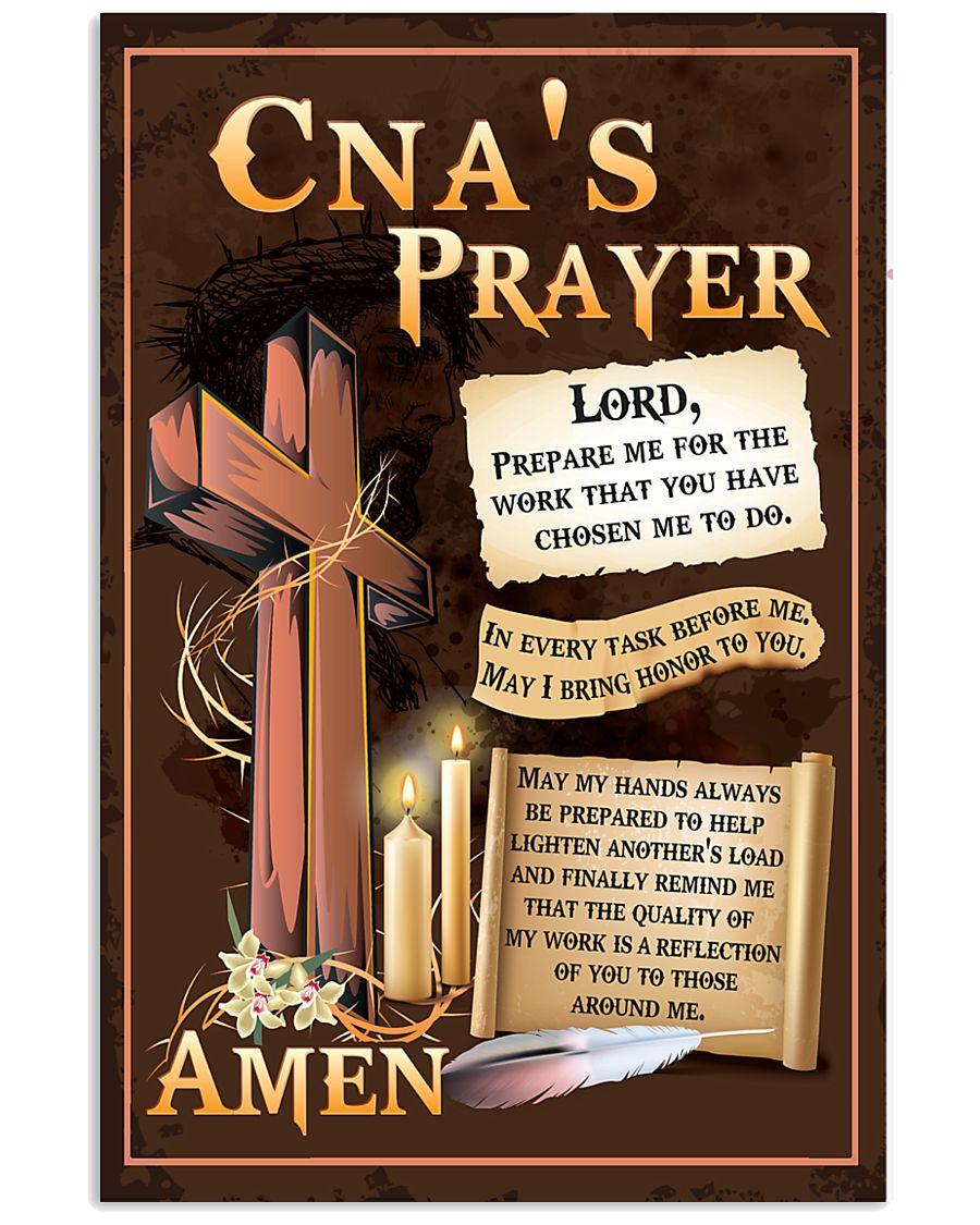 CNA's Prayer 11x17 Poster