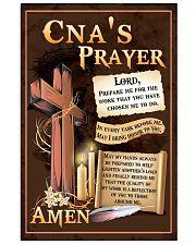 CNA's Prayer 11x17 Poster front