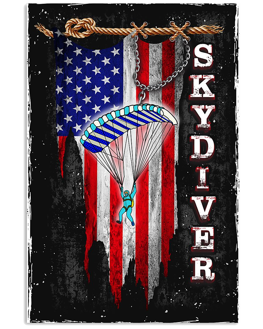 Proud Skydiving 11x17 Poster