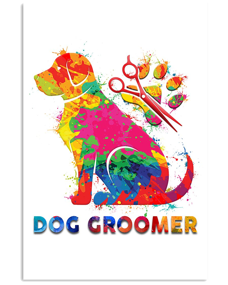 Proud Dog Groomer 11x17 Poster