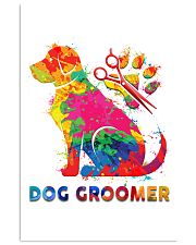 Proud Dog Groomer 11x17 Poster front